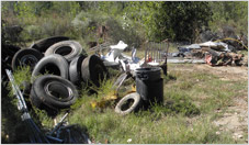 Junk Removal - Old Tires, Underground Tanks, and Scrap Metal